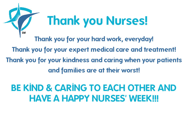 Thank you to all nurses!